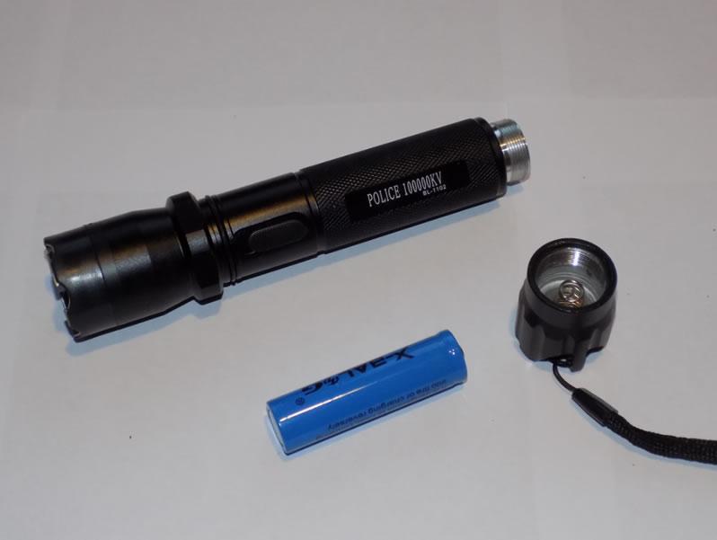 электрошокер Полисе 1102 со съемным аккумулятором
