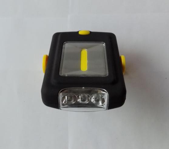 маленький двойной кемпинговый фонарик 3 LED COB