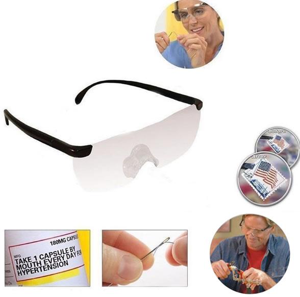 Очки с увеличением на 160% портативная лупа Big Vision