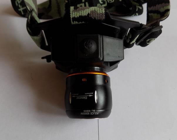налобный фонарик BL-6906
