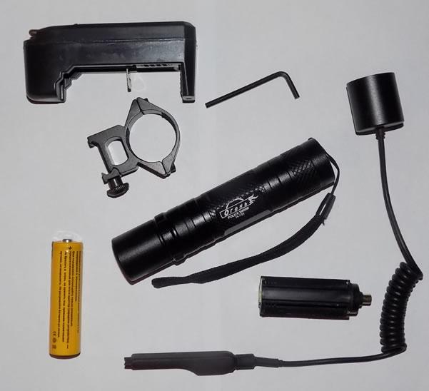 Подствольный фонарь Огонь H-135