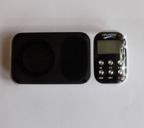 Мини-акустическая система Musky HJ-92+ с радио