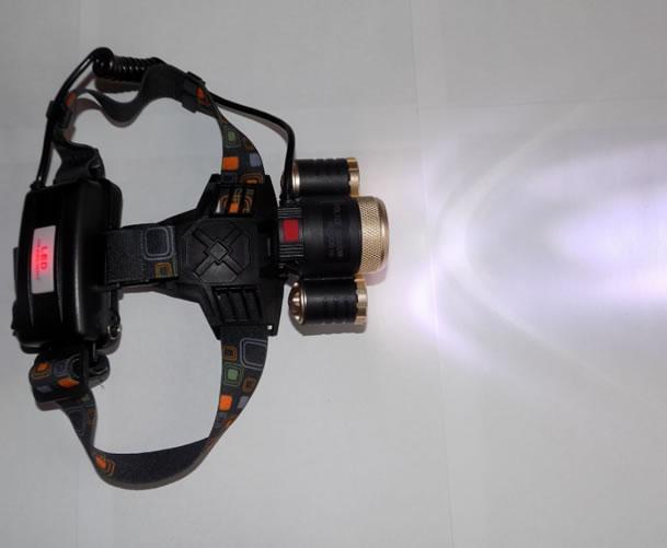 Мощный налобный фонарь YT-T19 ZOOM