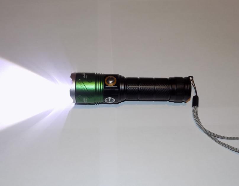 Тактический ручной фонарь HL-906