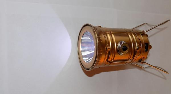 Кемпинговый фонарь JY-5700T 5LED+1W