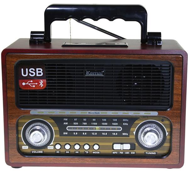 Радиоприемник в ретро стиле Kemai MD-1800BT