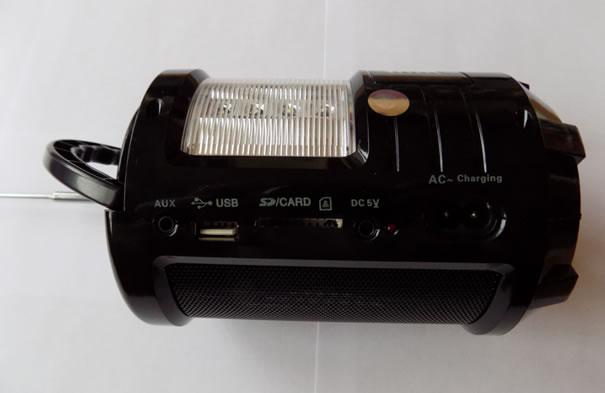 Радиопрёмник MEIER M-U603 с фонариком