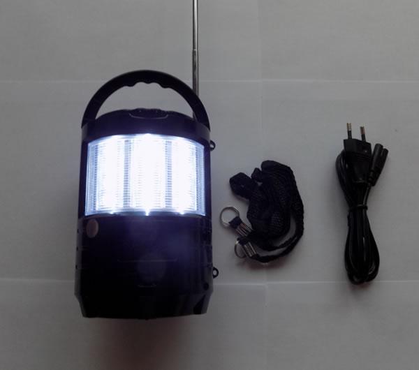 Радиоприёмник MEIER M-U603 с фонариком