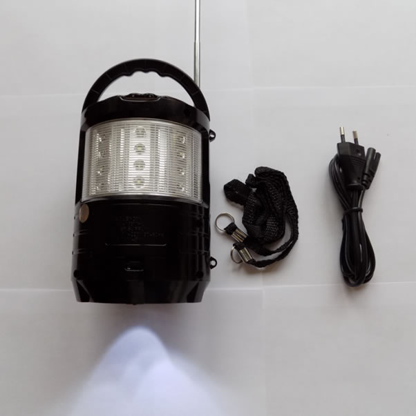 Радиоприёмник колонка MEIER M-U603 с фонариком
