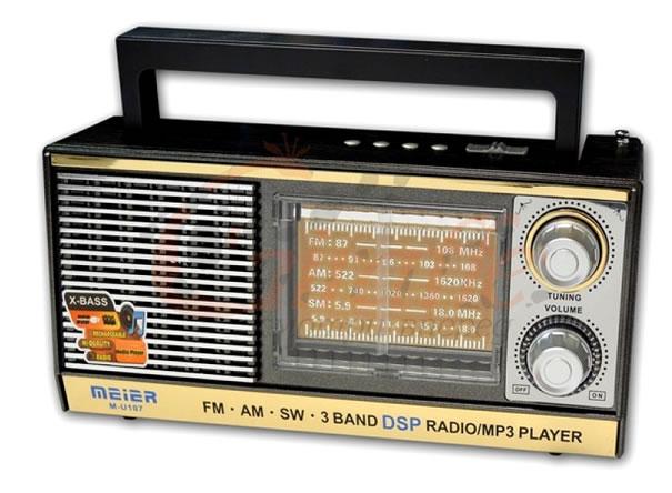 Радиоприемник Meier M-U107