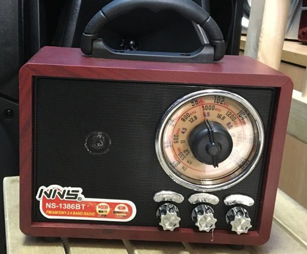Радиоприемник с хорошим приемом NNS NS-1386BT