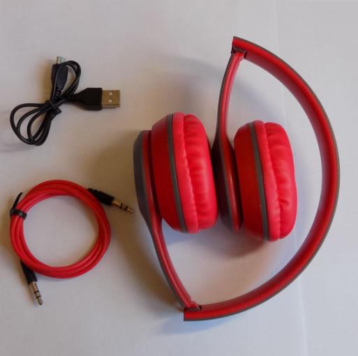 Накладные беспроводные Bluetooth наушники P47 комплектация