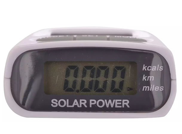 Солнечный шагомер Solar Pedometer HY-02T