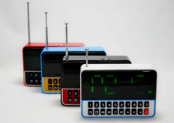 Радиоприемник часы WSTER WS-1513