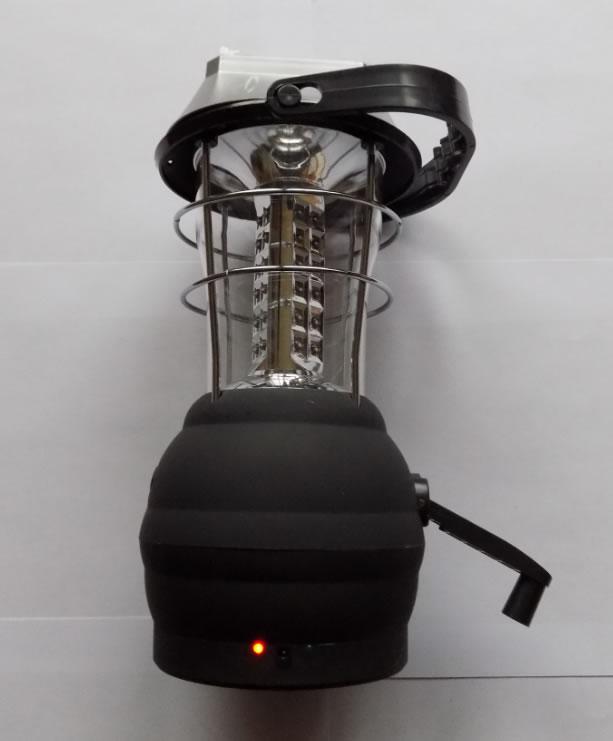 фонарь кемпинговый с динамо