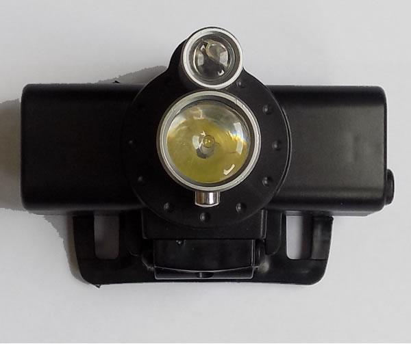 Налобный фонарь Y-718 два светодиода