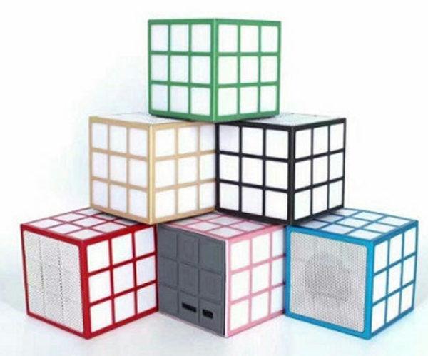 Портативная колонка C-329 Кубик Рубика