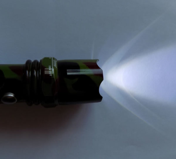 Тактический фонарик HL-W110C на Li-ion аккумуляторах