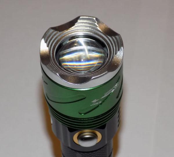 Тактический ручной фонарь HL-906 Police 38000W T6