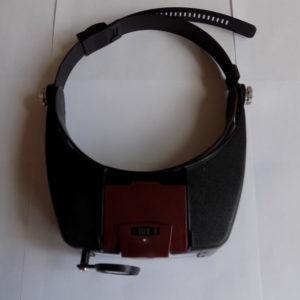 Лупа MG81007-A налобная с подсветкой