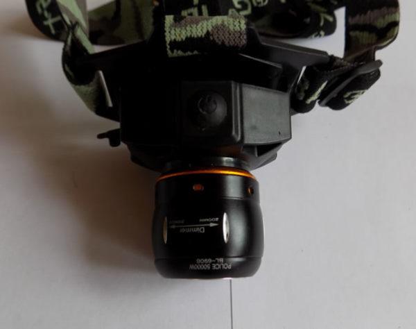 Аккумуляторный налобный фонарик BL-6906