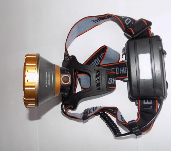 Налобный фонарь FA-7858 с широкой линзой