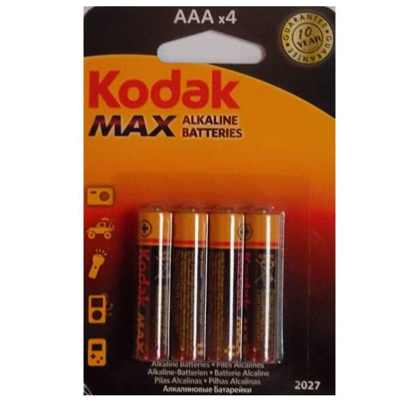 Алкалиновые батарейки Kodak MAX AAA