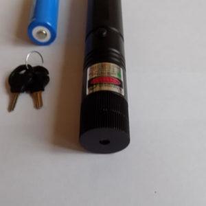 Зеленая лазерная указка TY Lazer 303 с защитой
