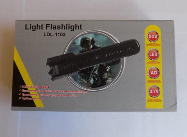 Электрошокер-фонарь LDL-1103 Flashlight
