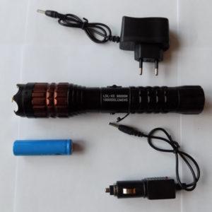 Фонарик-электрошокер LDL-X5