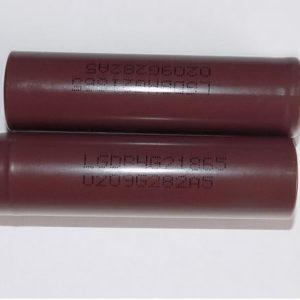 Аккумуляторы 18650 LG HG2 3.7v 3000mah