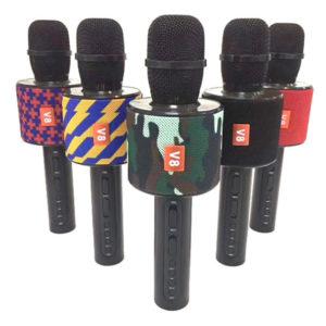 Микрофон колонка Charge V8 Bluetooth караоке