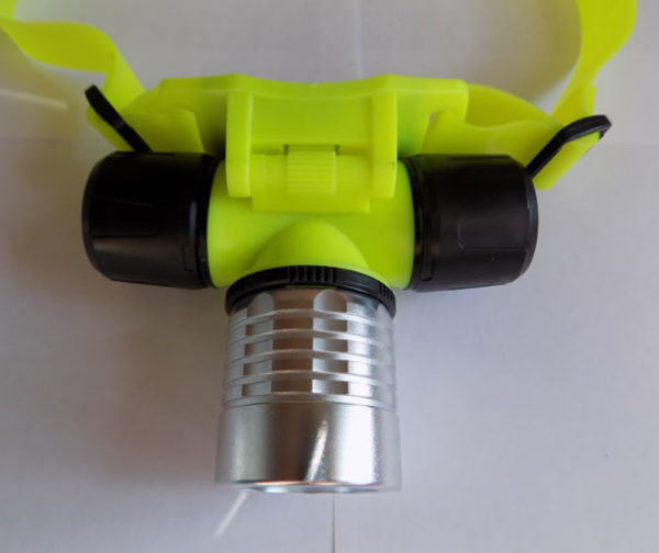 Налобный фонарь для дайвинга