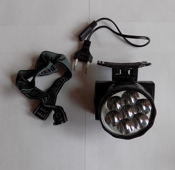 Небольшой наголовный фонарик XL-588