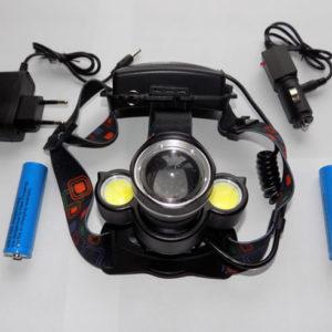 Налобный фонарь BL-C878-T6 с тремя фарами