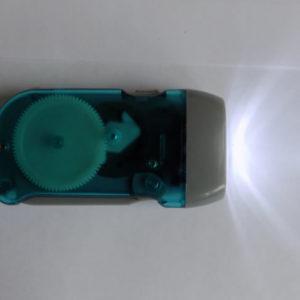 Маленький светодиодный динамо фонарь Hand-pressing Flash Light