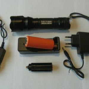 Светодиодый тактический аккумуляторный фонарь FA-8011 T6