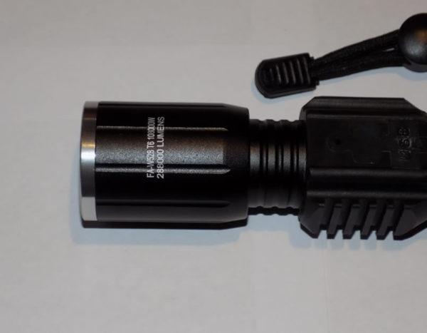 Ручной фонарь тактический FA-W528 T6 + COB + USB зарядка