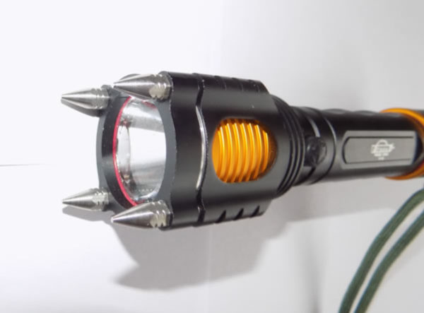 Универсальный светодиодный фонарь H-192 с сиреной