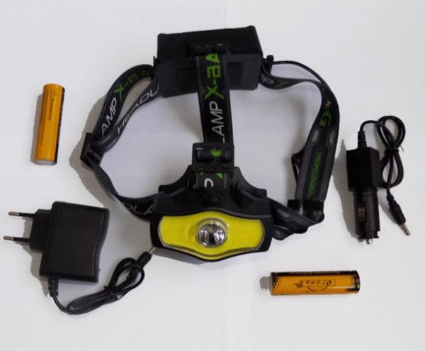 Налобный фонарь Огонь H-T518