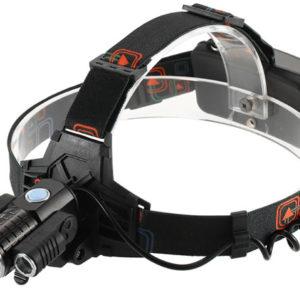 Налобный фонарь HL-8216 ZOOM с поворотными фарами