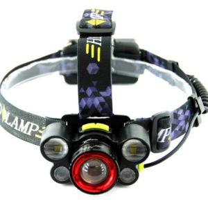 Мощный налобный фонарь HL-8828 пять фар
