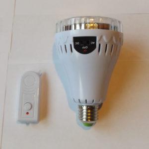 Умная светодиодная лампа GL-718-2 с пультом