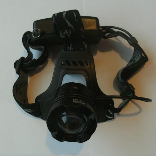 Налобный аккумуляторный фонарик HANGLIANG HL-K12