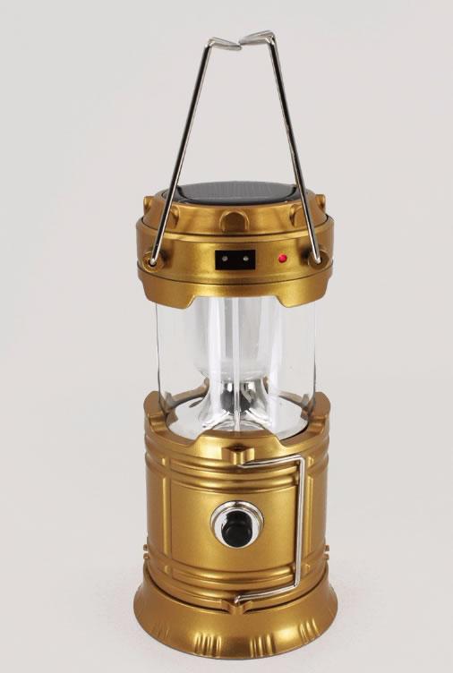 Кемпинговый фонарь KEMEI KM-5900T на солнечной батареи