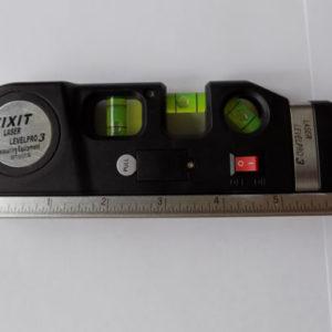 Лазерный уровень Fixit Laser Level PRO 3 с рулеткой