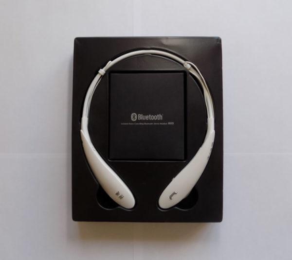 Беспроводная гарнитура LG Wireless Headphones HBS-800