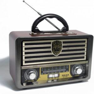 Радиоприемник MEIER M-113BT ретро с поддержкой Bluetooth