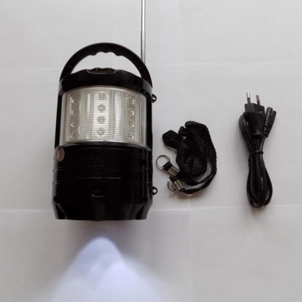 Радиоприёмник колонка MEIER M-U603 с фонариком на аккумуляторе с USB/SD слотом для прослушивания музыки