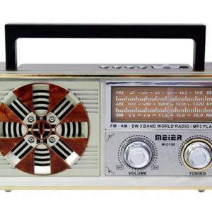 Аналоговый радиоприемник Meier MU106 AM/FM/SW